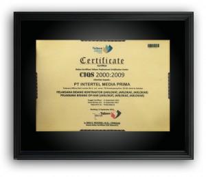sertifikat telkom
